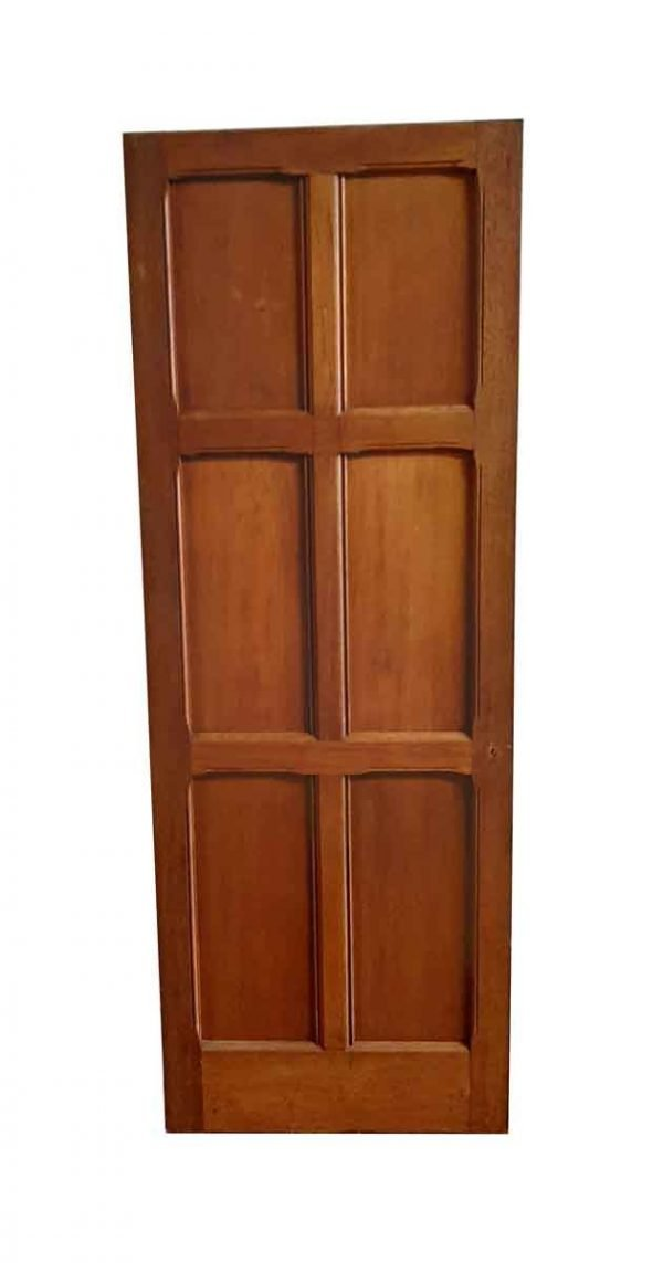 Standard Doors - Arts & Crafts 6 Pane Oak Passage Door 77.5 x 27.75