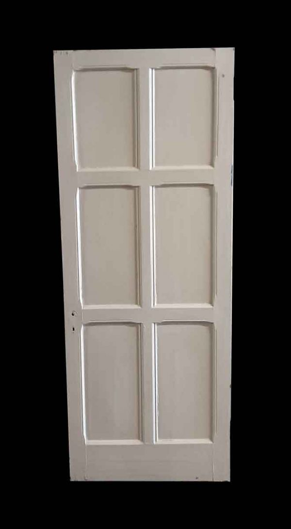 Standard Doors - Arts & Crafts 6 Pane White Oak Passage Door 76.75 x 29.75