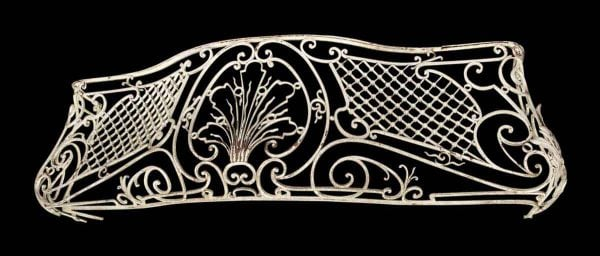 Balconies & Window Guards - Antique Wrought Iron Bombay Balcony Guard