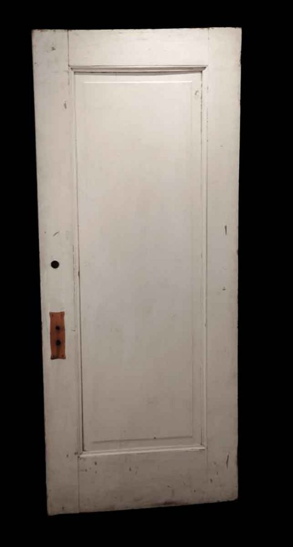 Standard Doors - Antique 1 Pane Wood Privacy Door 75.75 x 31.625