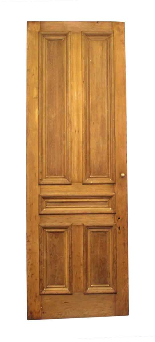 Standard Doors - Antique 5 Pane Unfinished Wood Privacy Door 107 x 36