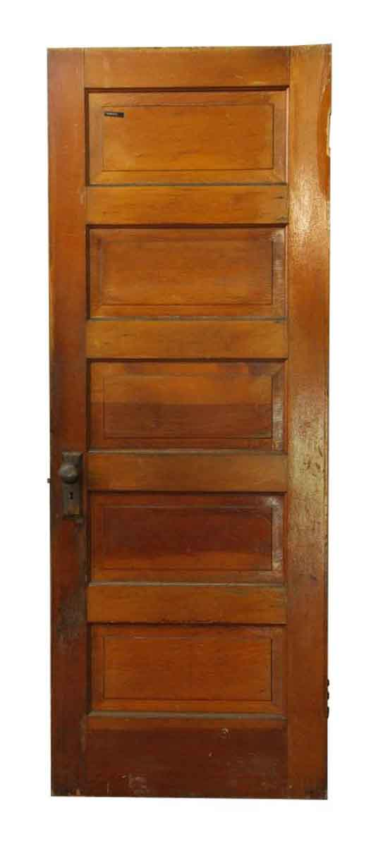 Standard Doors - Antique 5 Pane Wood Passage Door 79.5 x 29.75