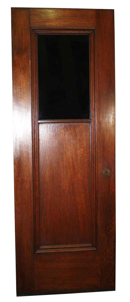 Standard Doors - Antique Oak Passage Door with Door Surround 82.875 x 29.75