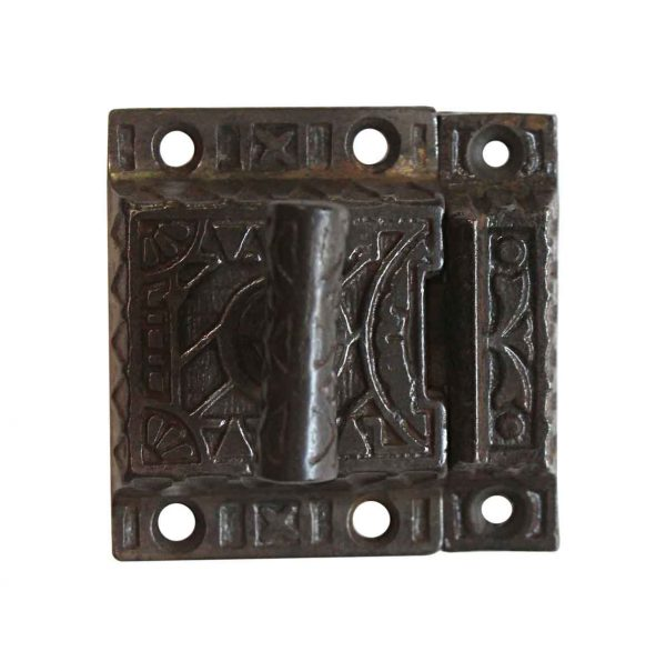 Cabinet & Furniture Latches - Antique Aesthetic 2.25 in. Cast Iron Cabinet Latch