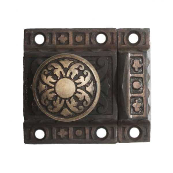Cabinet & Furniture Latches - Antique Aesthetic Cast Iron 2.375 in. Cabinet Latch