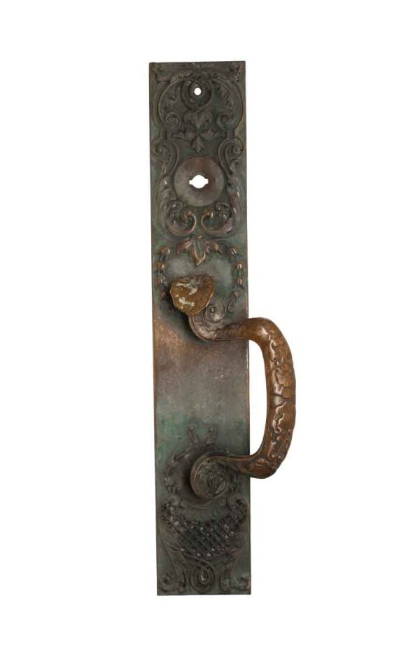 Door Pulls - Art Nouveau Russell & Erwin 16.125 in. Bronze Door Pull