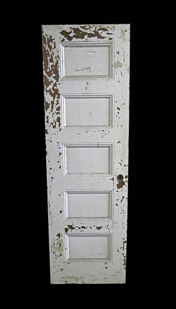 Standard Doors - Antique 5 Pane Wood Passage Door 82.75 x 26.5