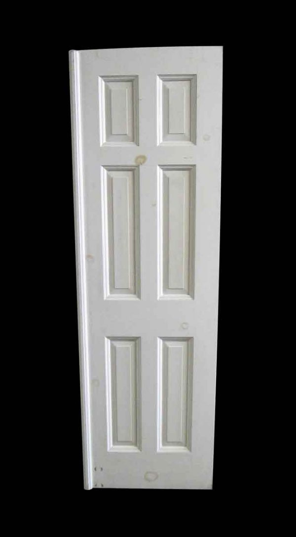 Standard Doors - Antique 6 Pane White Passage Door 78.25 x 24.5