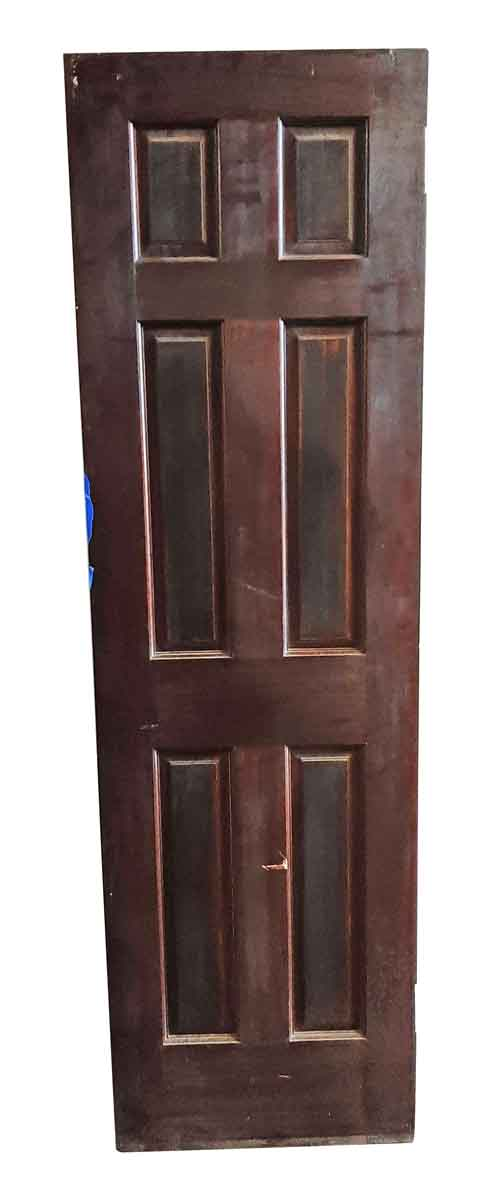 Standard Doors - Antique 6 Pane Wood Passage Door 80 x 23.75