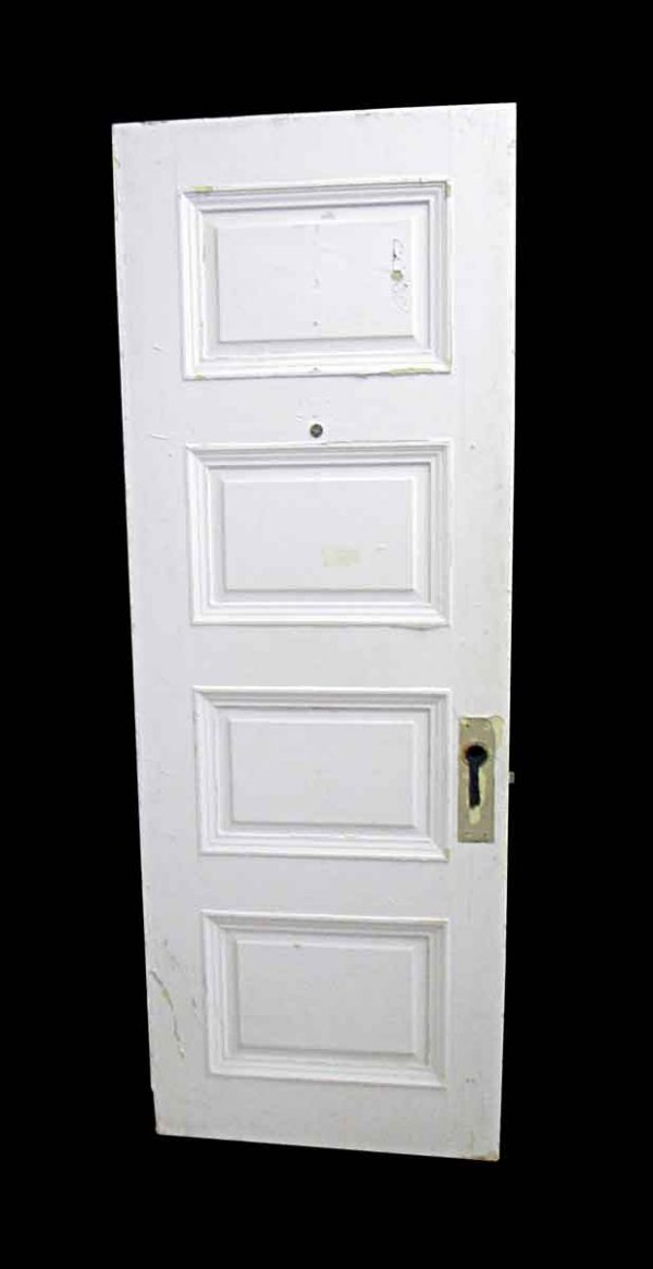 Standard Doors - Antique Lamb's Club 4 Pane Wood Passage Door 82.5 x 29.5