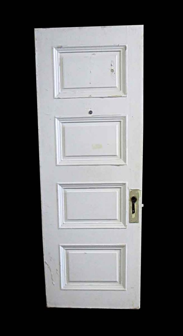 Standard Doors - Antique Lamb's Club 4 Pane Wood Passage Door 83 x 29.75
