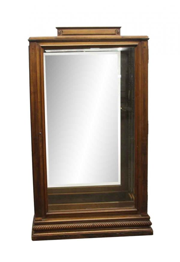 Commercial Furniture - Antique Imported 71.5 x 42 Wooden Showcase