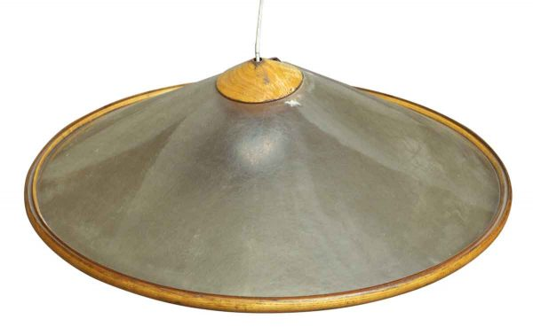 Down Lights - Mid Century Large Round 33.5 in. Pendant Light