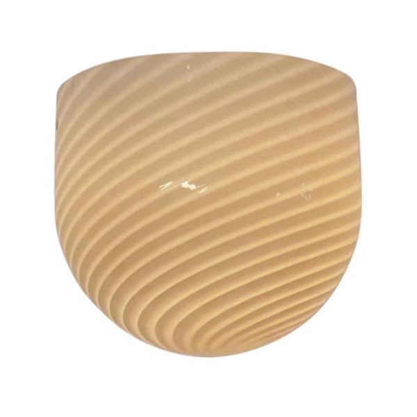 Sconces & Wall Lighting - Modern Yellow Striped Murano Glass Wall Sconce