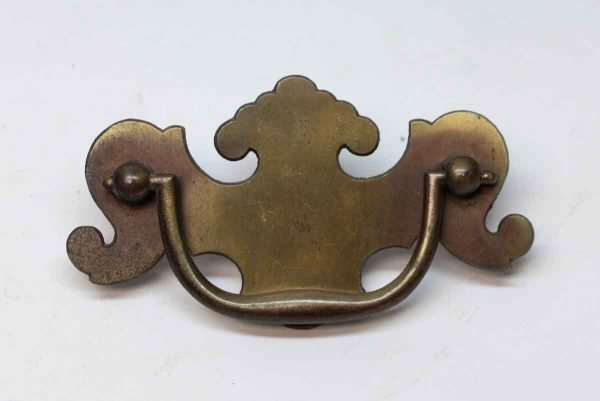 Cabinet & Furniture Pulls - Vintage Chippendale Style Brass Bail Pull