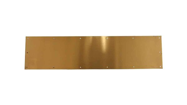 Door Pulls - Reclaimed Corbin Bronze 33 x 8 Door Kick Plate