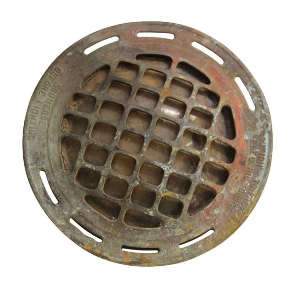Industrial & Commercial - Industrial Submersible Bronze Flush Light