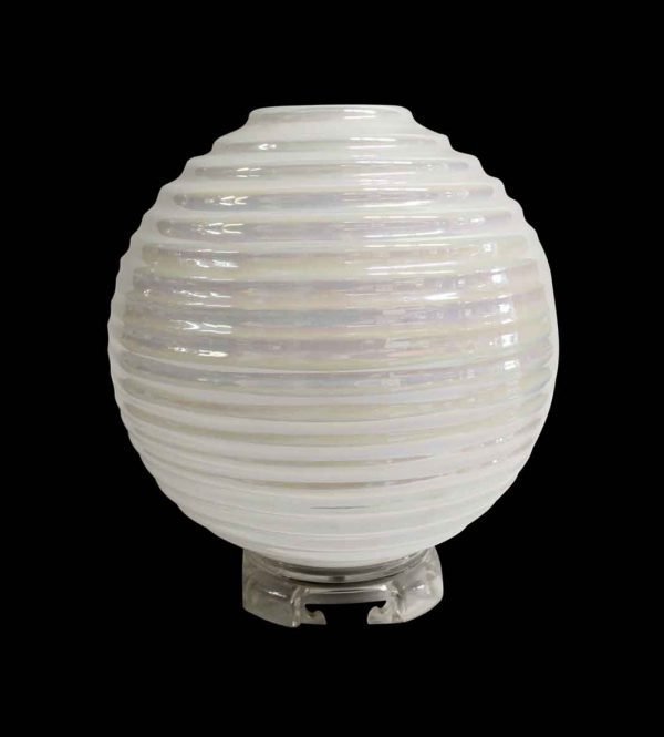 Lamp & Tables - Mid Century Modern Opalescent Murano Glass Table Lamp