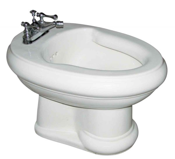 Bathroom - Reclaimed White Kohler Bidet