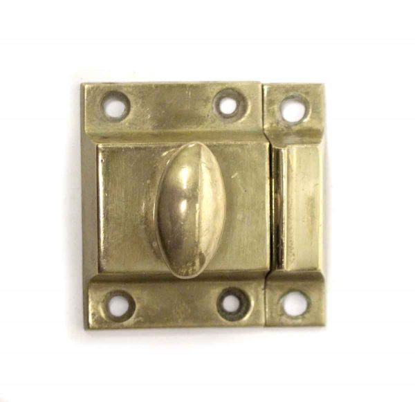 Cabinet & Furniture Latches - Vintage Plain Brass Cabinet Latch