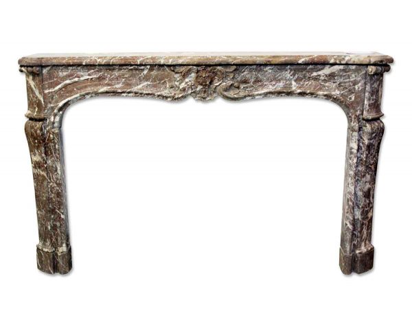 Danny Alessandro Mantels - French Louis XV Antique Marble Mantel