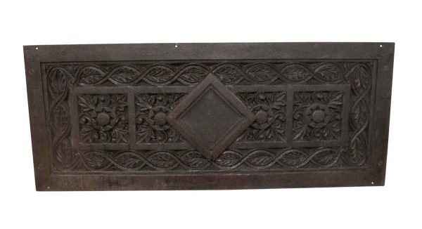 Decorative Metal - 19th Century Cast Iron Plaque from a Church Facade