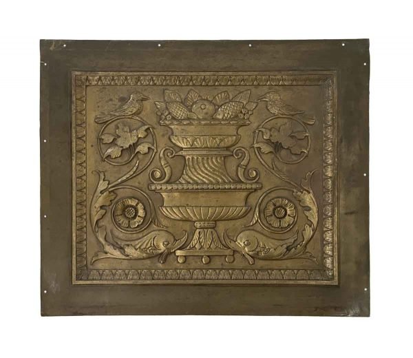 Decorative Metal - Decorative Bronze Panels from The St. Regis Hotel NYC