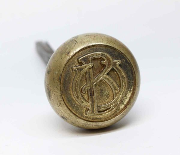 Door Knobs - Antique Bronze BU Emblematic Door Knob