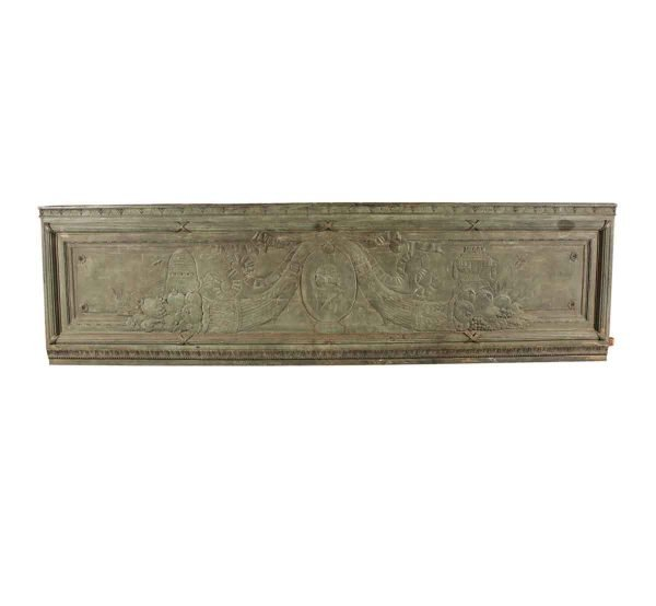 Exterior Materials - 1920s Bronze Architectural Plaque from National American Building NYC