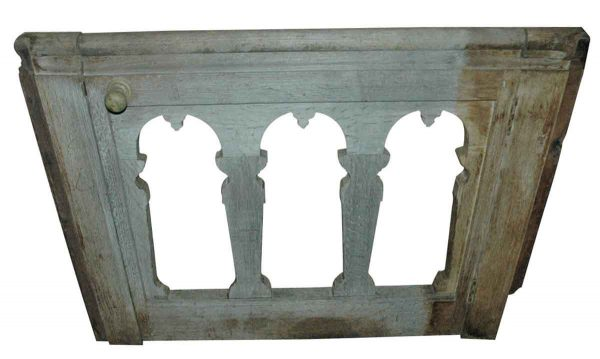 Flooring & Antique Wood - 18th Century Gothic Carved Oak Gate