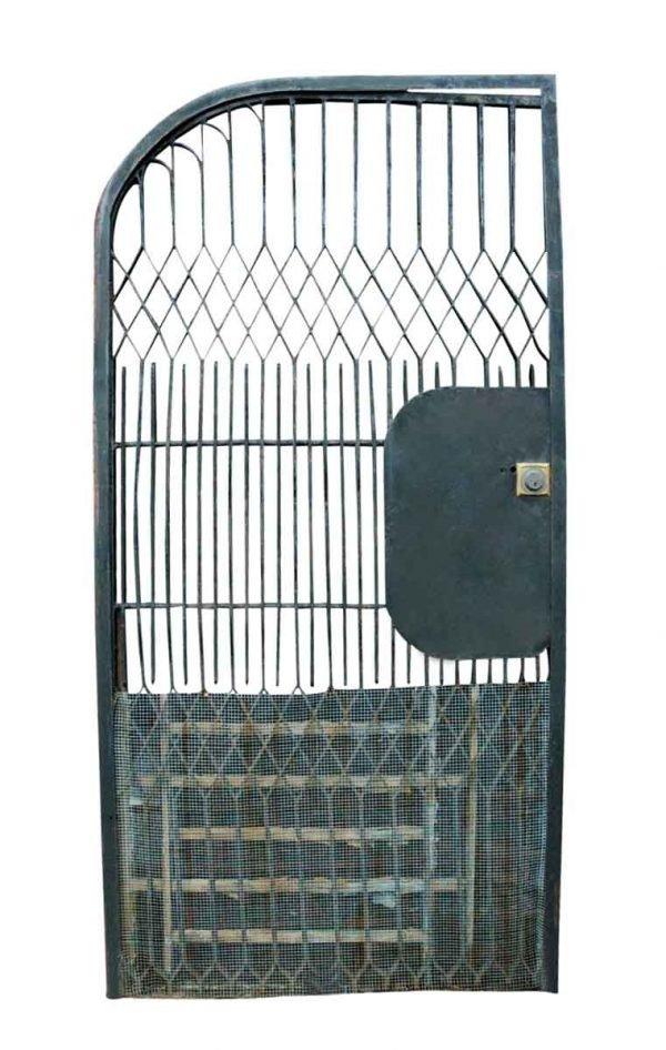 Gates - Wrought Iron Half Arched Gate Door 70 x 30