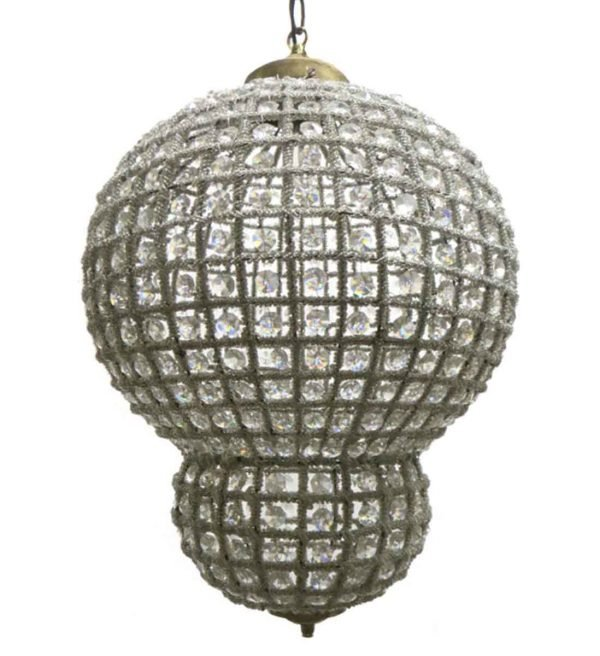 Globes - 20 in. H Moroccan Style Pendant Light