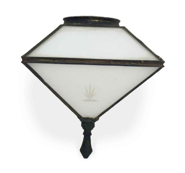 Globes & Shades - Exterior Ceiling Globe with Etched Glass