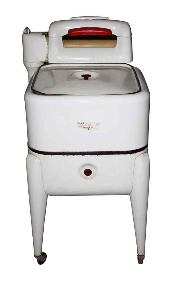 Kitchen - Antique White Enamel Maytag Washing Machine