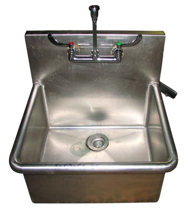 Kitchen - Reclaimed Stainless Steel Wall Mount Utility Sink