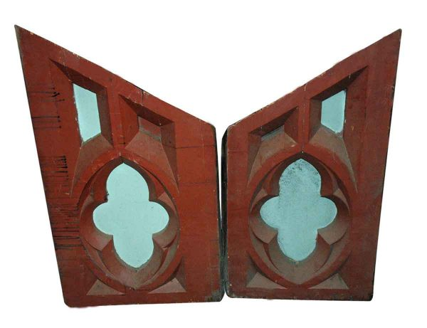 Religious Antiques - Antique Carved Gothic Wood from a Church