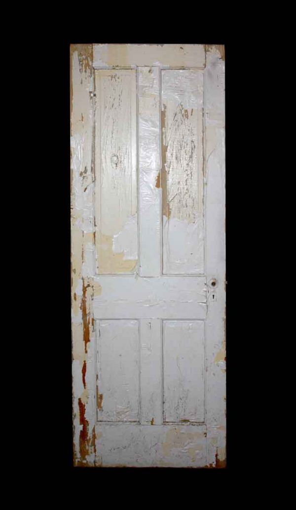 Standard Doors - Antique 4 Pane Wood Passage Door 78.5 x 30