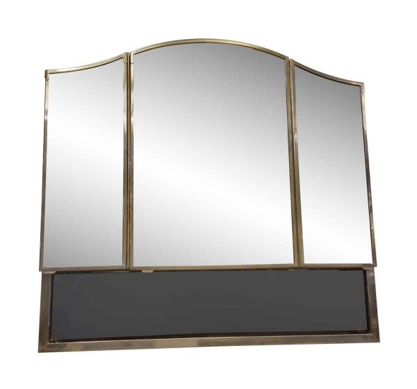 Waldorf Astoria - Waldorf Astoria Art Deco Mirror & Nickel Medicine Cabinet