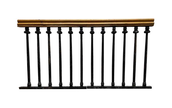 Balconies & Window Guards - Cast Iron Balcony Railing from The United Charities Building NYC