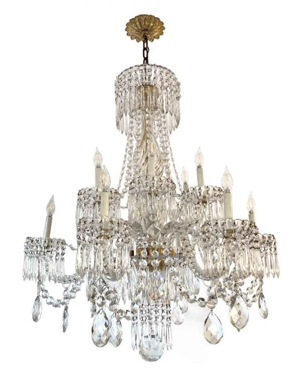 Chandeliers - Baccarat 12 Light Crystal Chandelier