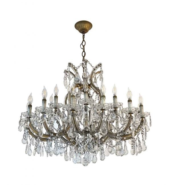Chandeliers - Large 22 Arm Marie Therese Chandelier