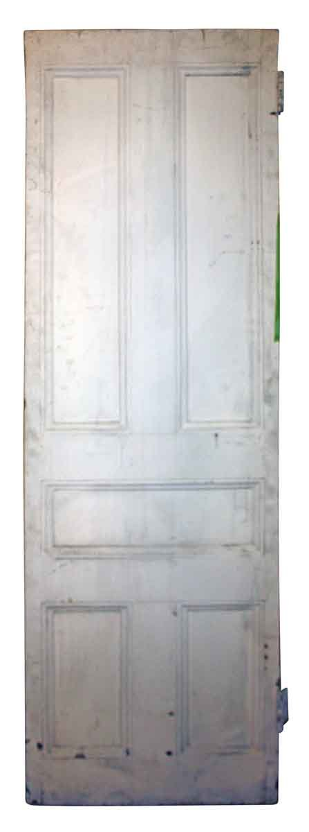 Commercial Doors - Antique 5 Pane Wood Swinging Door 79.625 x 23.75