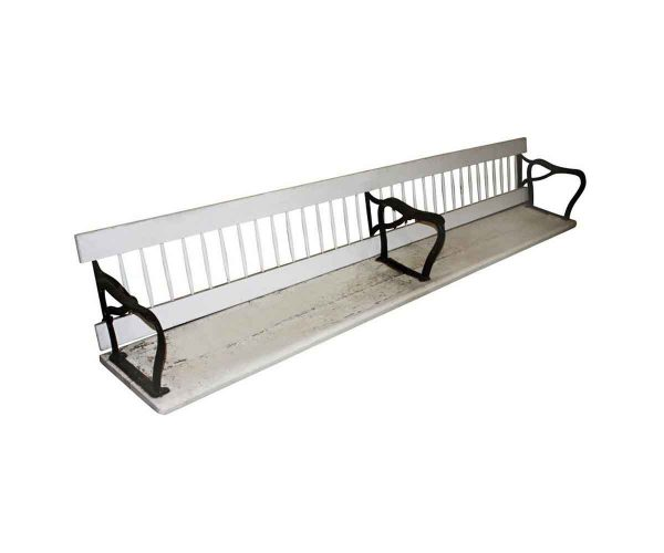 Commercial Furniture - Reclaimed 9 ft Wood Early Train Bench