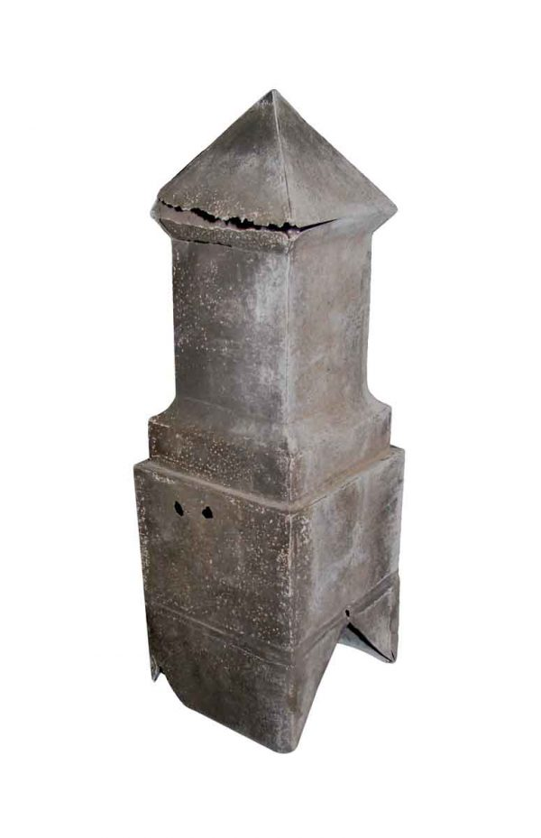 Exterior Materials - Reclaimed Imported Galvanized Roof Finial