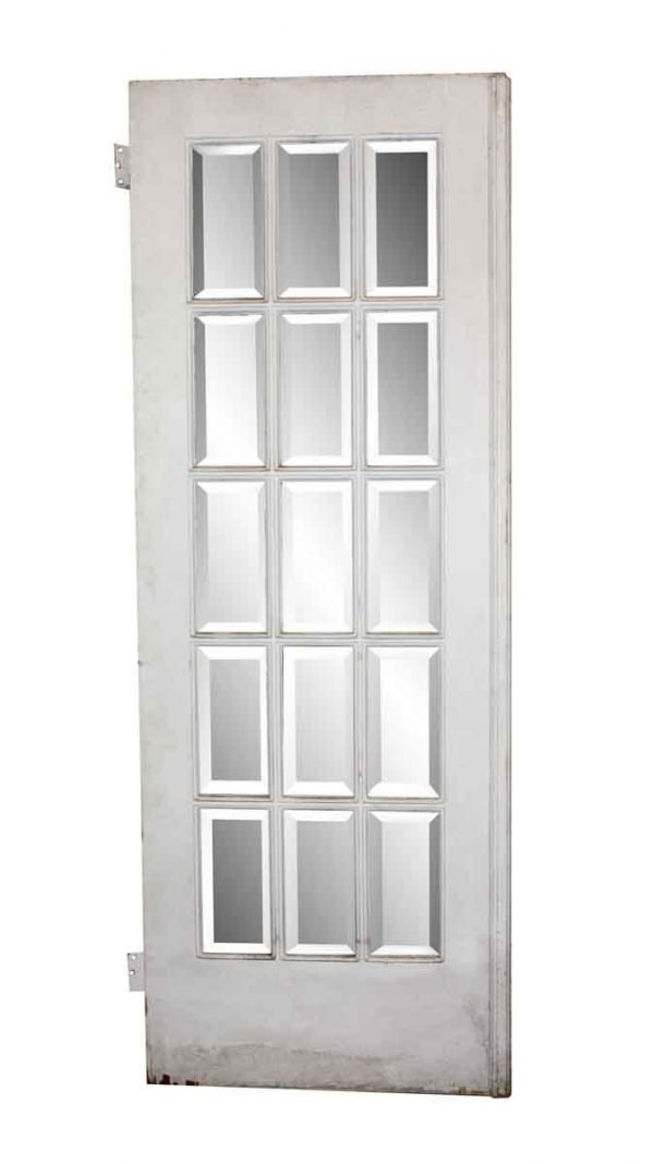French Doors - Salvaged 15 Beveled Lites French Door 83 x 30.75