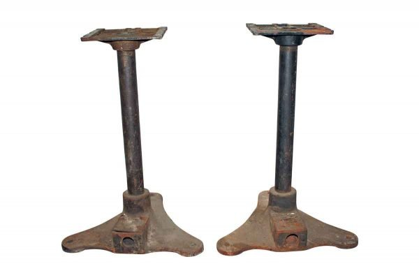 Industrial - Antique 23 in. Cast Iron Table Bases