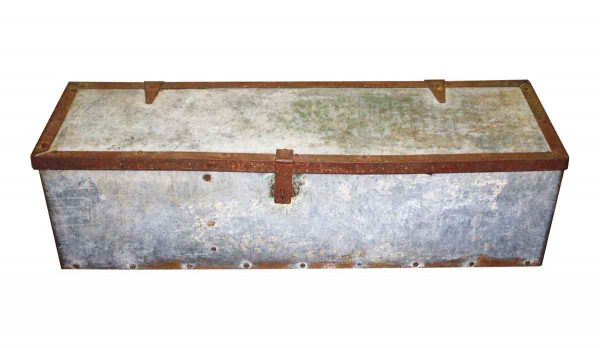 Prop Rental - Vintage 43.75 in. Steel Tool Box