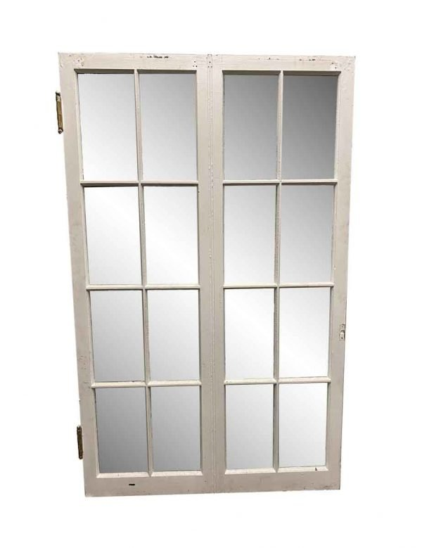 Reclaimed Windows - Vintage 16 Lite Wide French Windows 66 x 39.5