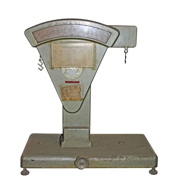Scales - Vintage August Sauter Post Office Scale