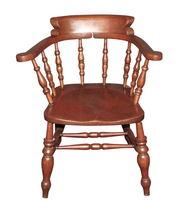 Seating - Vintage Captain Pine Arm Chair